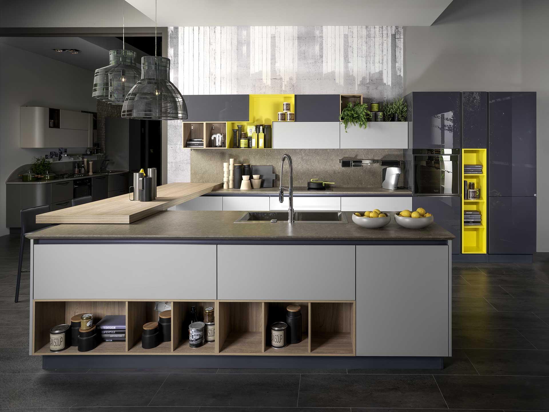 Malafronte home living arredamenti cucine for Isola attrezzata per cucina